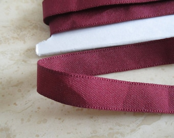 2.9 m Burgundy Ribbon, extra strong Burgundy long and 1.5 cm in height