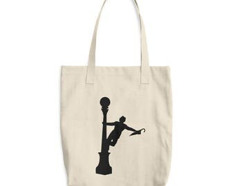 Singing In The Rain Cotton Tote Bag