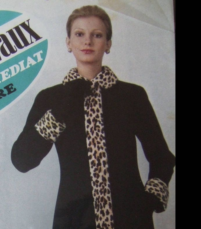 patron vintage manteau femme modes et travaux. Black Bedroom Furniture Sets. Home Design Ideas