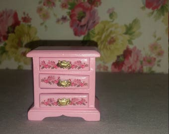 Dollhouse miniatures nightstand