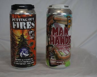 Sand City Beer Cans