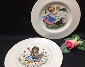 Nursery Rhyme Plates by Pickard China - sold individually