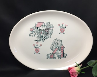 Serving Platter - Red Barn by Stetson