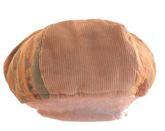 Two-tone baby beret child - And bi material