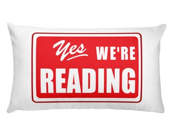 Reading Pillow Read Across America Read Across the USA teachers gift literacy school teachers students principals motivation librarian
