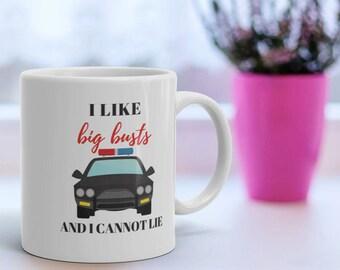 I Like Big Busts 11oz Coffee Mug