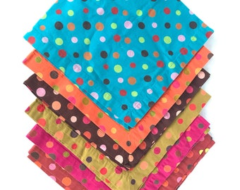 Colorful Kitchen Napkins