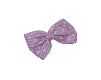 ♥ 1 PCs bow has polka dots 35mm ♥