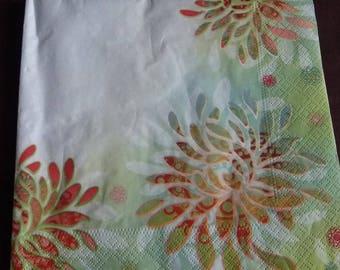 Paper flower n3 towel