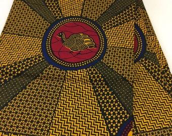 6 yards wax print fabric, Ankara dress, African clothing, African wax print,