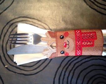 1 door covered and the reindeer René towel