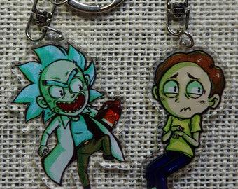 Rick and MortyAcrylic Charm