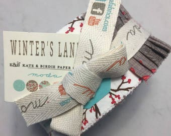 Kate and Birdies Winters Lane Quilters Jelly Roll HTF