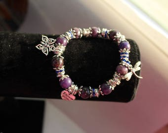 lepidolite symbol of peace and calm child bracelet