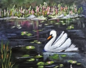 SWAN AND POND