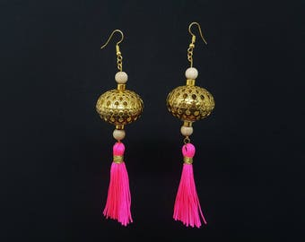 ANAIS Rose Bohemian earrings