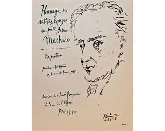 Pablo Picasso Lithograph Poster 1964