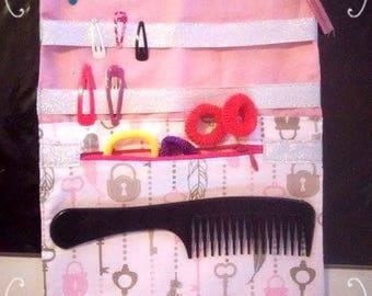 Pocket Clip, elastic scrunchie hair comb ' large size 31 x 22 cm