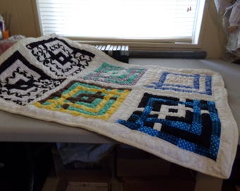 Hand quilted Baby quilt