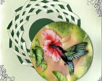 Hummingbird 3D card