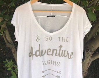 Wanderlust adventurer swing tee