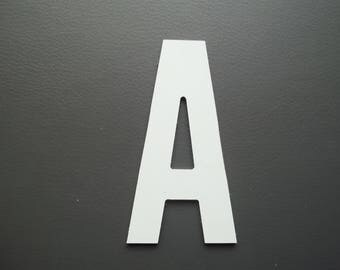 Metal aluminum ALTERNATE GOTHIC letter. all letters available