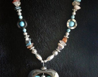 Butterfly Navajo Handmade Necklace