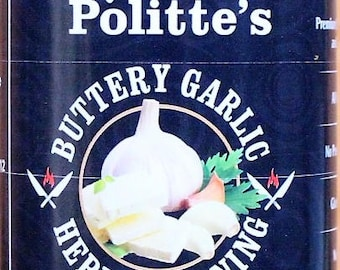 Chef Politte's Buttery Garlic Herb Seasoning