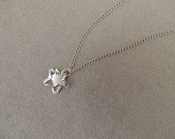 Necklace sterling silver stars