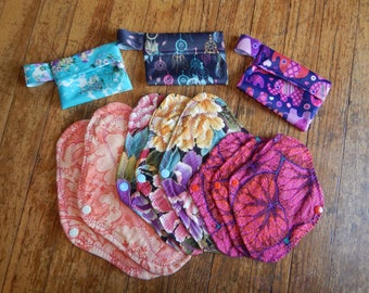 Reusable Pads for your Monthly Cycle