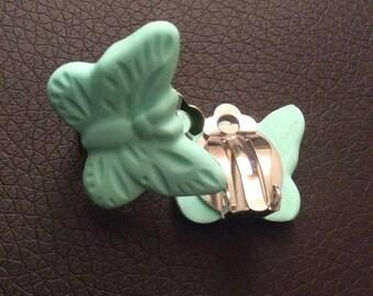 Clip earrings butterflies!