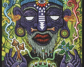 Witch Doctor by Ryan Gardell   - Blotter art