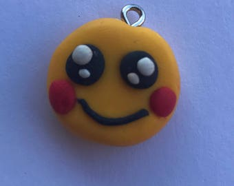 Emoji Smile creation in Fimo