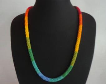 Multicolor Embera necklace