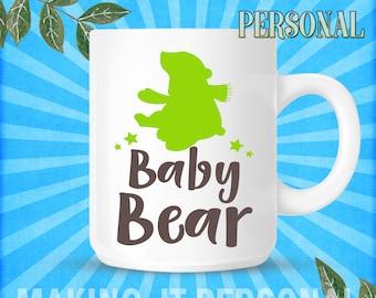Baby Bear Personalised Mug Gift Idea
