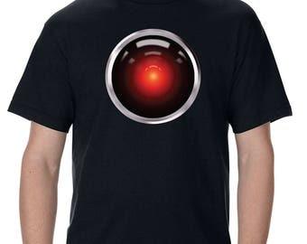 2001 HAL 9000 Eye Adult T-Shirt
