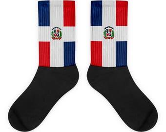 Dominican Republic on my feet Socks