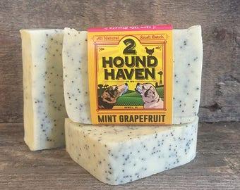 Handmade Soap: Mint Grapefruit