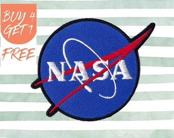 NASA Patches Space Patches Iron On Patch Embroidered Patch Astronaut Space Station