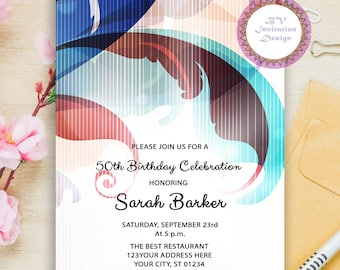 Adult party invitations Etsy