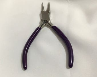 Round Nose Pliers, Round Pliers, Craft Tools, Jewellery Making, Pliers,  Stainless Steel, Stainless Steel Tool, Ergonomic Handle, Craft Tool