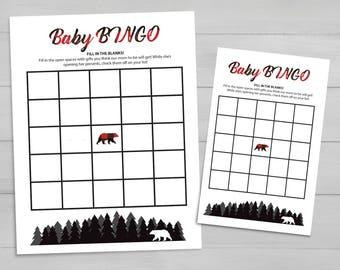 Adventure Baby BINGO Game