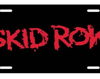 SKID ROW  License Plate