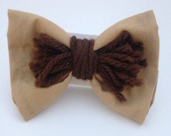 Wizard of Oz Cowardly Lion Hairbow