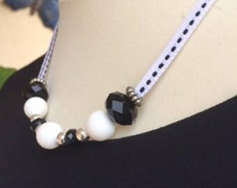 """""""Sélène"""" necklace"""