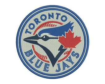 Toronto Blue Jays Embroidery Design - 5 SIZES