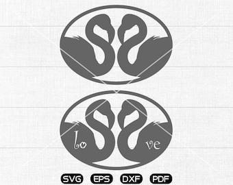 Flamingo Lover SVG Files, Flamingo Clipart, cricut, cameo, silhouette cut files commercial & personal use