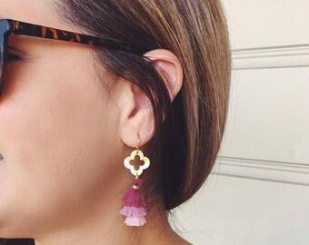 Mini Tassel Earrings