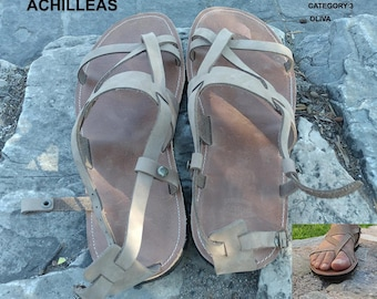 Men's Sandals,Handmade Sandals, Leather Sandals, Sandals for Men,Men's Leather Sandals,Greek Sandals, Olive Oil Sandals, ACHILLEAS