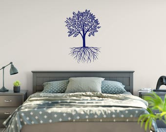 Tree Of Life Wall Decal, Tree Decor, Living Room Decor, Bedroom Decor
